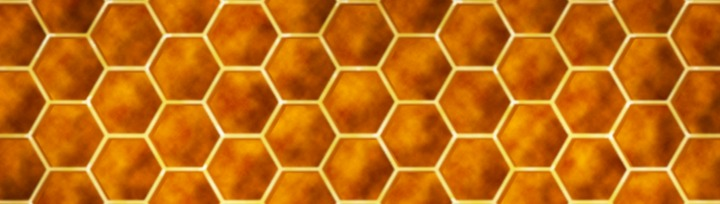 a honeycomb pattern represents cells behaving in an orderly fashion